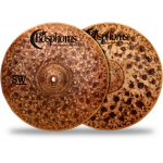 Bosphorus Cymbals Syncopation SW Hi-Hat Top Cymbal 14 in.